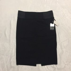 NWT Stoosh black pencil skirt size Large